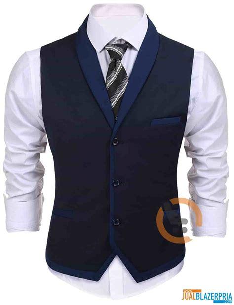 desain jas trendi detil produk rompi pria trendi murah rm 009 jual blazer