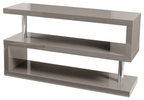 tv media bench contour tv bench contemporary media storage by dwell