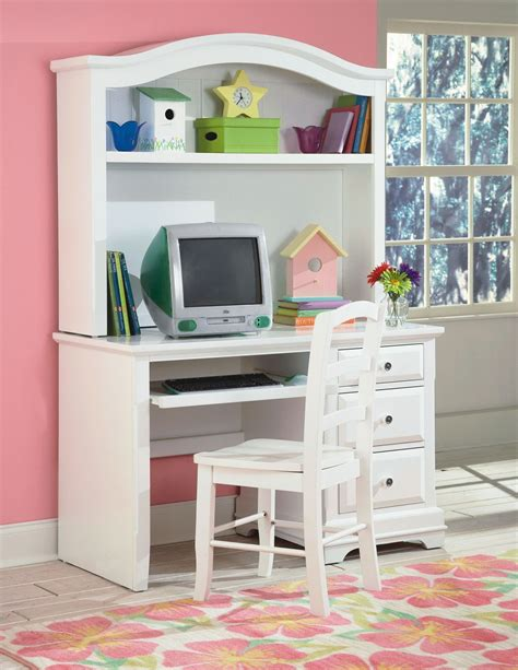 White Student Desk With Hutch Bayfront White Student Desk With Hutch From New Classics 1415 091 092 Coleman Furniture