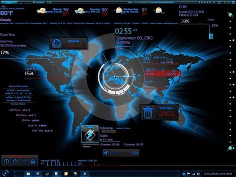wallpaper engine for linux rainmeter skin amerisphere software technologies