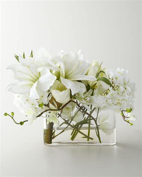 Faux Floral Centerpieces 20 Modern Faux Flower Arrangements Brit Co