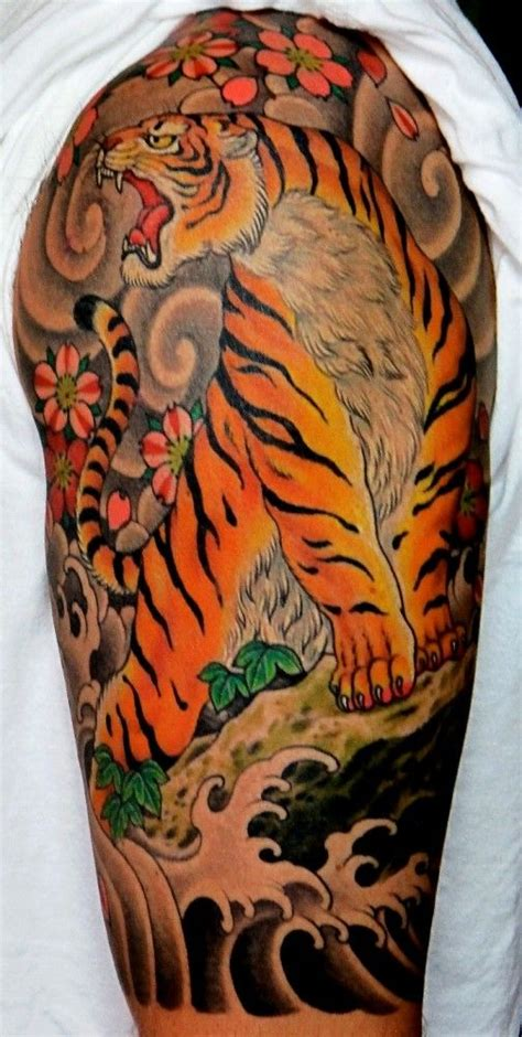 chris garver tattoos awesome chris garver traditional japanese style tiger