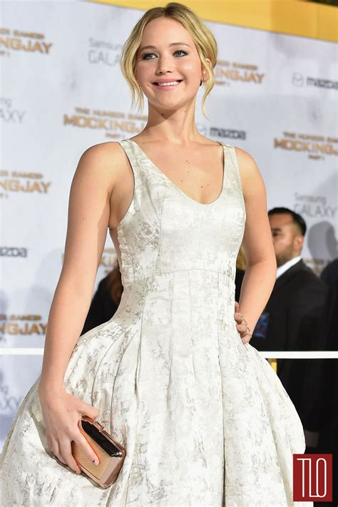 Diory Dress Gamis Diori in couture at quot the hunger mockingjay part 1 quot la premiere tom