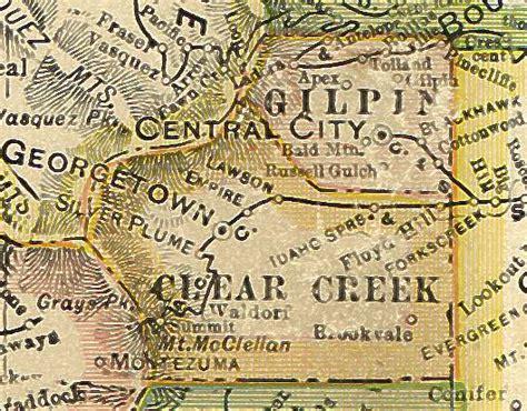 Creek County Records Clear Creek County Colorado Genealogy Census Vital Records