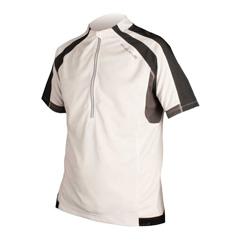19317 White Textured Sml Jacket hummvee s s jersey trail protection endura