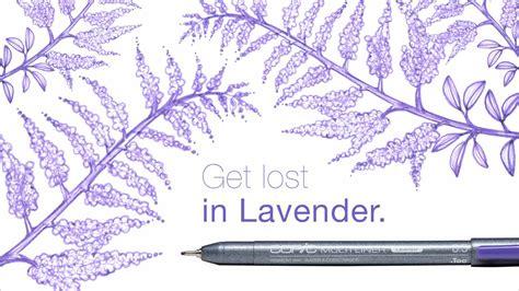 Copic Multiliner Pen Lavender Set lavender multiliners copic