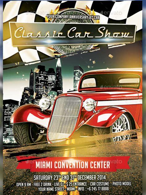 25 Car Show Flyer Templates Free Premium Download Car Show Flyer Template