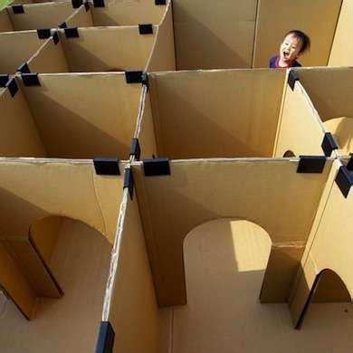 cardboard box   blow