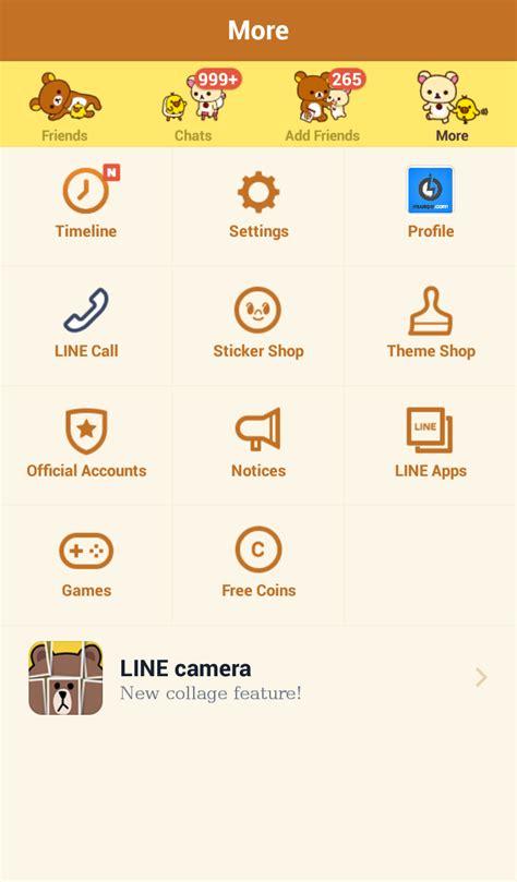 tema line android official test xml install gratis tema line messenger terbaru rilakkuma