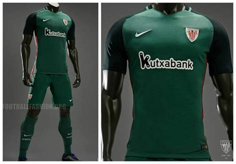 Jersey Athletic Bilbao Away 1213 athletic bilbao 2016 17 nike home and away kits football fashion org
