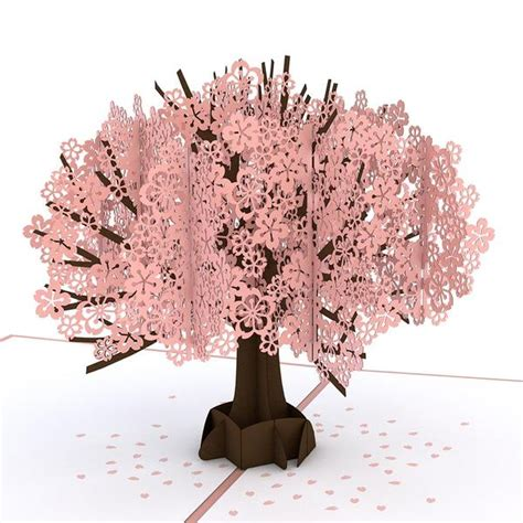 winterlane pop op tree cherry blossom pop up s day card lovepop