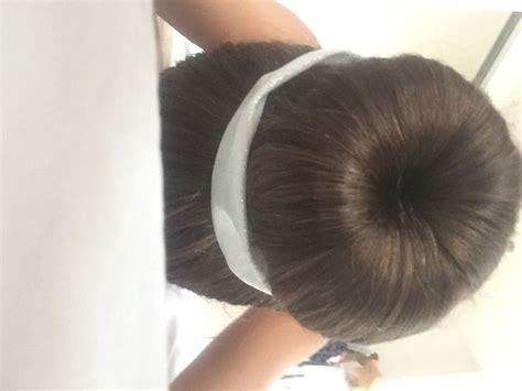 good hair bun in your 40s 6 ways to make a bun wikihow