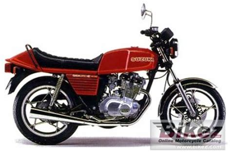 Suzuki Gsx 250e 1982 Suzuki Gsx 250 E Specifications And Pictures