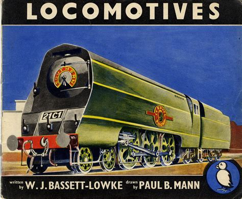 locomotive books paul mann locomotives 1947 puffin books