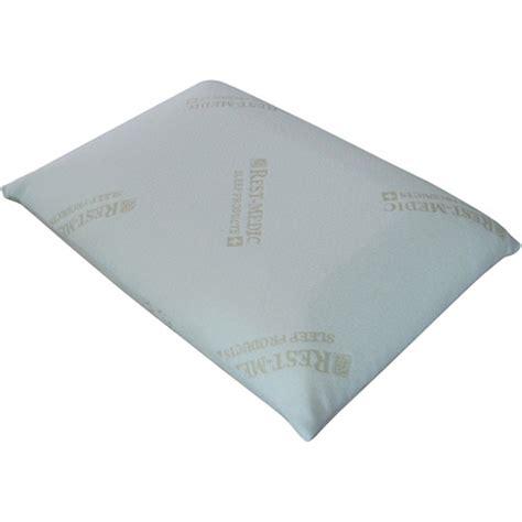 Walmart Pillows Memory Foam by Rest Medic Classic Memory Foam Pillow Walmart