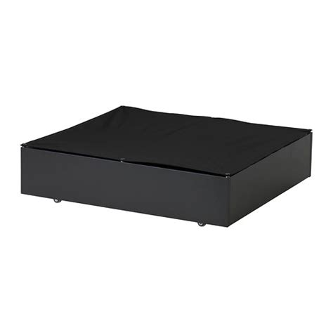vard 214 underbed storage box black ikea