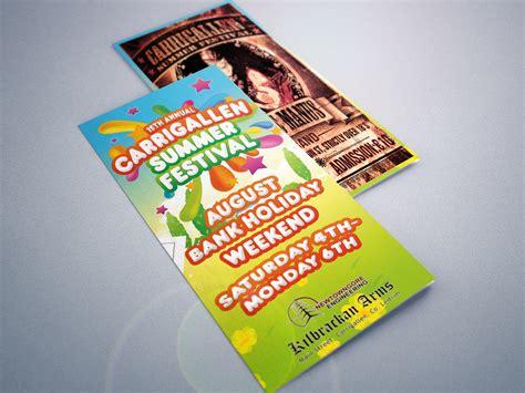 Festival Brochure Design by Carrigallen Festival Brochure Brianmorandesign