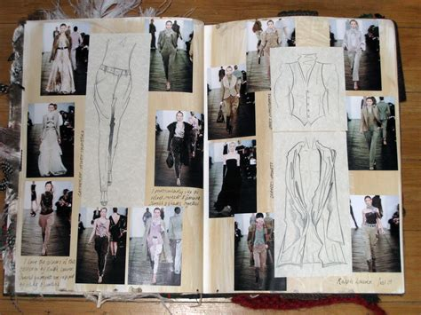 fashion design research book heritage sketchbook ellie mountfort s fashion blog