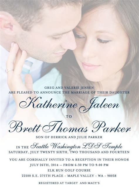 Wedding Announcement Prices by 136 Best Images About Lds Wedding Invitations On