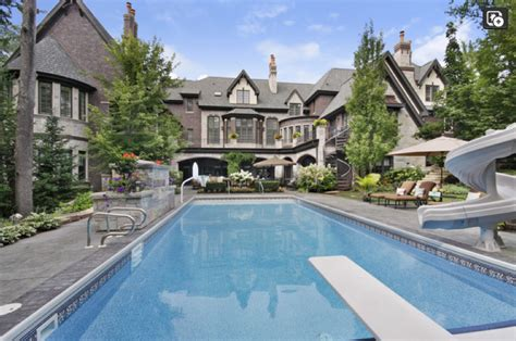 French Country Livingroom 3 9 Million Brick Amp Stone French Country Mansion In New