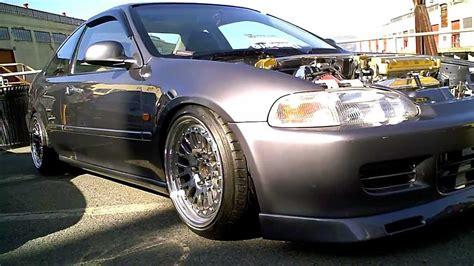 1993 honda civic ej1 coupe with gsr swap skunk2 intake