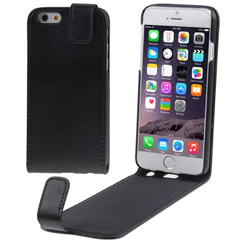layout case iphone simple design vertical flip leather case for iphone 6
