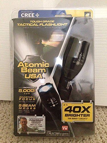 atomic beam vs tac light atomic beam usa tough grade tactical flashlight as seen on