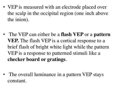 flash pattern vep macular dystrophies