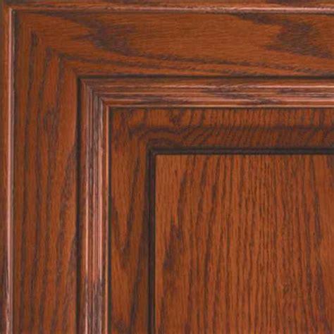 Seville oak kitchen Cabinet Doors     Cherry Finish on