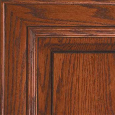 Seville oak kitchen Cabinet Doors     Cherry Finish on
