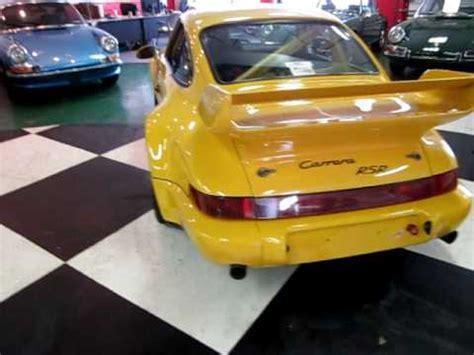 "1993 porsche type 964 3.8 carrera rsr ""one of 51 factory"