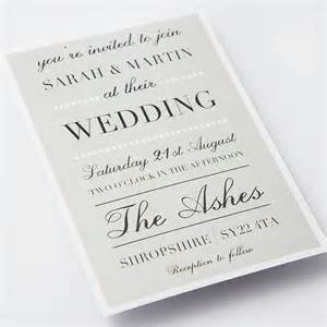 classic wedding invitations byersfroo keep a classic wedding