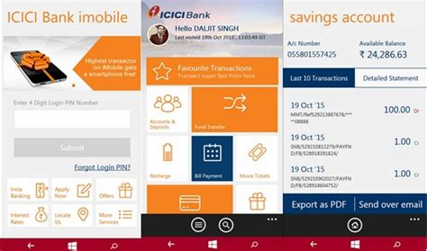 icici bank mobile icici bank s mobile banking app updated with tax payment