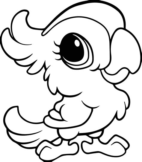 coloring pages of cute animals with big eyes cute cartoon drawings of animals with big eyes cartoon