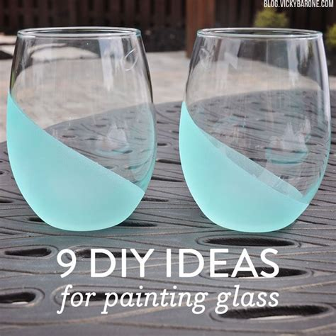 apartment decor diy painted glass vases 9 diy ideas for painting glass dim do it myself diy