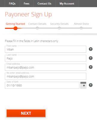 membuat kartu kredit payoneer cara membuat kartu kredit mastercard