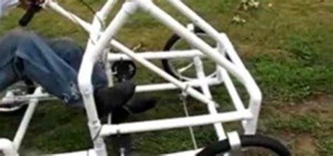 build from pvc pipe car american speedster the pvc bike car 171 pvc innovation
