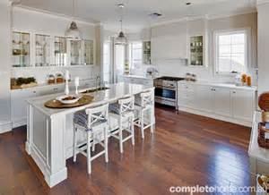 Home Plans With Large Kitchens real home hamptons inspired completehome