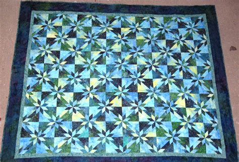 Quilt Pattern Hunters Star   hunter s star wandering stars blog