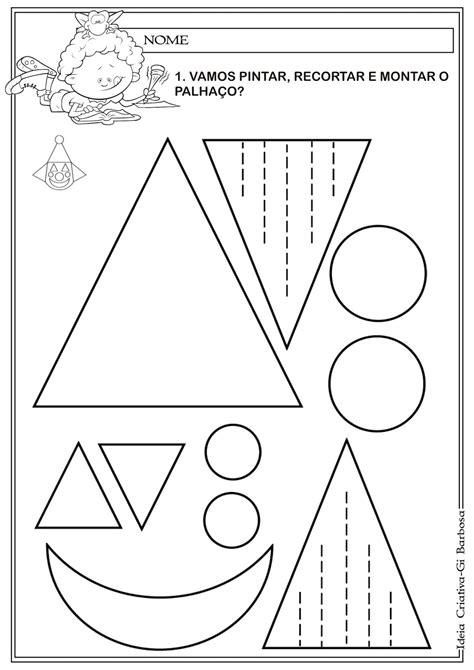 figuras geometricas para colorir desenhos com figuras geometricas para colorir