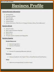 Curriculum Vitae Examples Pdf by 10 Business Profile Example Worker Resume