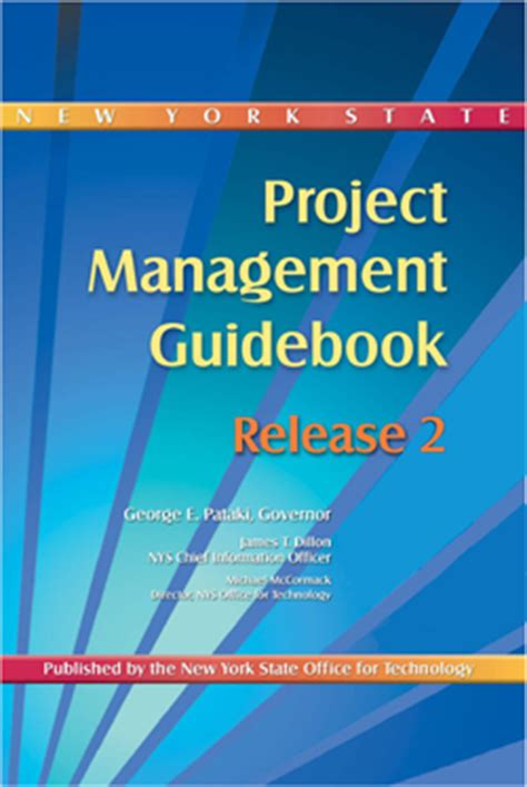 Mba In Technology Management State Of New York by Nys Project Management Guidebook Release 2 New York