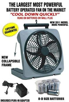 rechargeable battery powered fan 1000 images about battery operated fans on