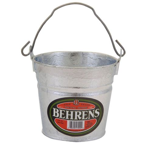 behrens 17 gal galvanized steel tub 3gsx the home