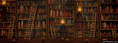 library bookcase ladder books facebook covers 2014 library facebook timeline