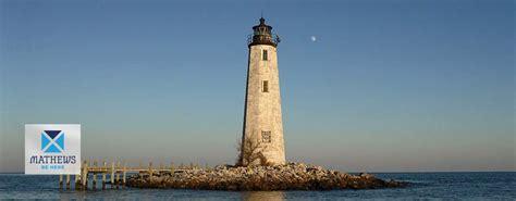 new point comfort lighthouse mathews county visitor center mathews virginia