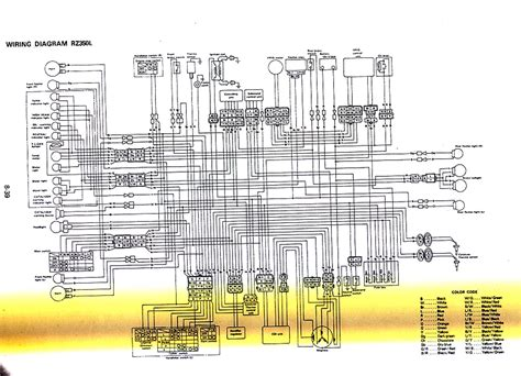 rz350 wiring diagram 28 images bridage yamaha rd350