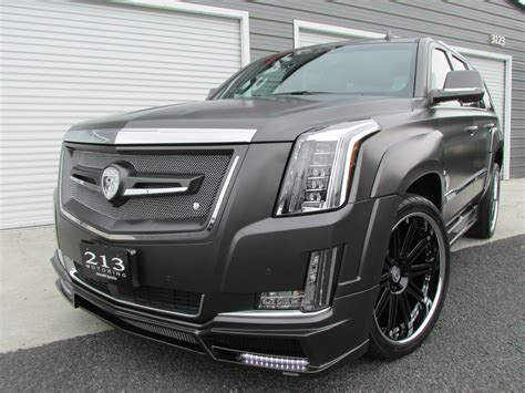 Customized Cadillac Escalade customized 2015 cadillac escalade by strut gallery