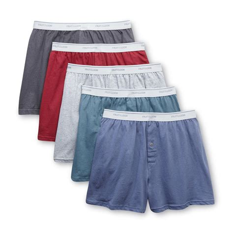 fruit of the loom boxer briefs fruit of the loom s cotton boxer briefs 4 pk