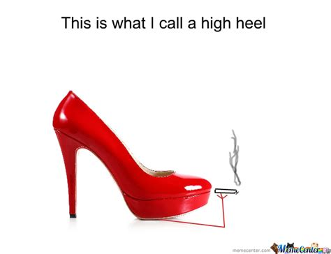 High Heels Meme - high heel by sasho8f meme center